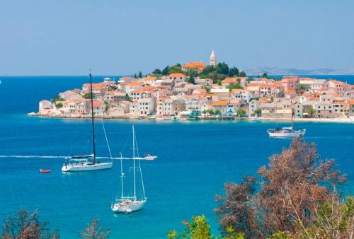 Красивый вид в Хорватии