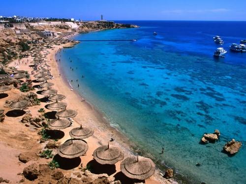 Берег моря в Шарм-эль-Шейхе
