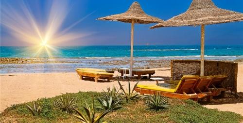 Места для отдыха на пляже