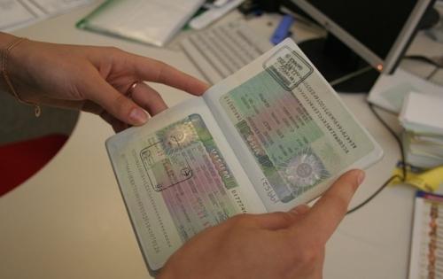 Паспорт с польской визой
