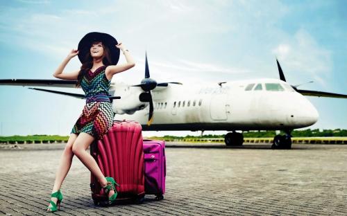 Девушка-путешественница