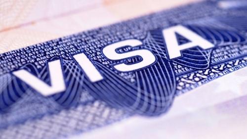 Фрагмент шенгенской визы