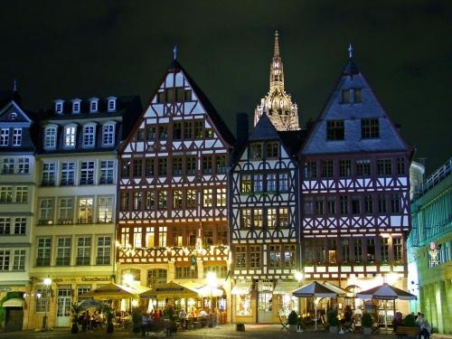 Площадь Рёмер во Франкфурте