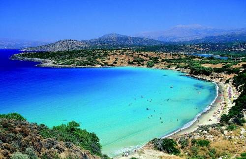 Сине-голубая вода Кипра