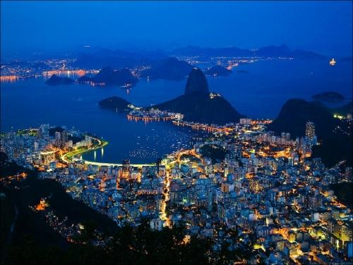 Красивый вид в Бразилии