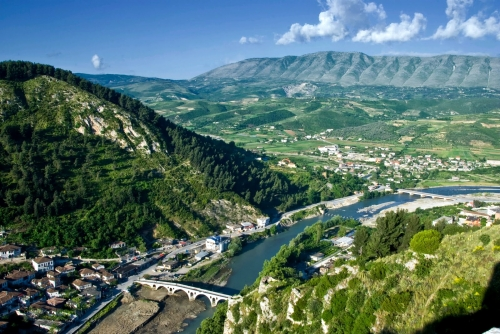 Красивый вид в Албании