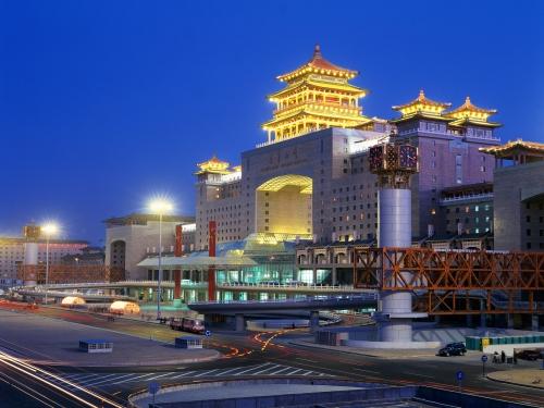 Пекин вечером