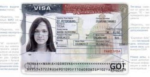 Виза на въезд в Америку