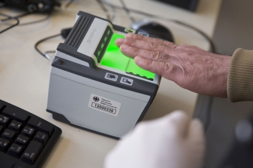 Отпечатки для шенгенской визы