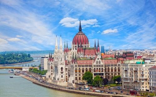 Вид на Венгрию