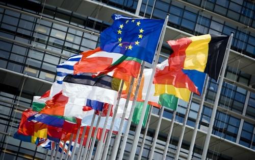 Флаги стран-участниц Шенгена