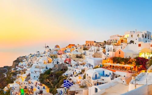 Греция утром