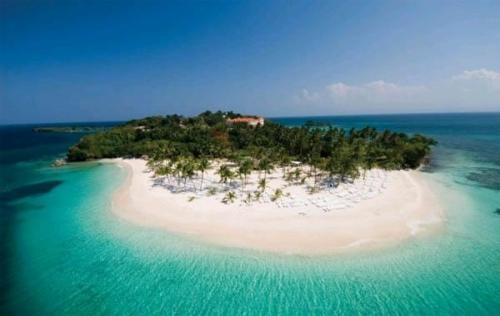 Живописный остров