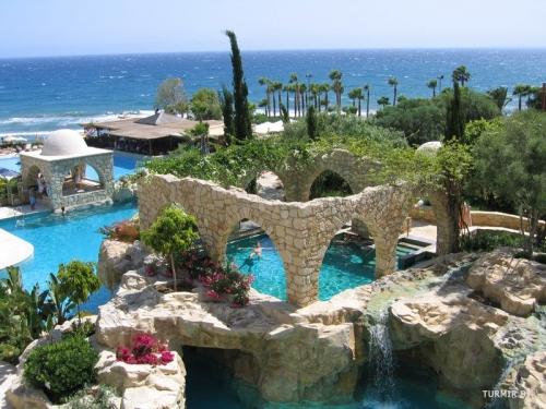 Красивый вид на Кипр