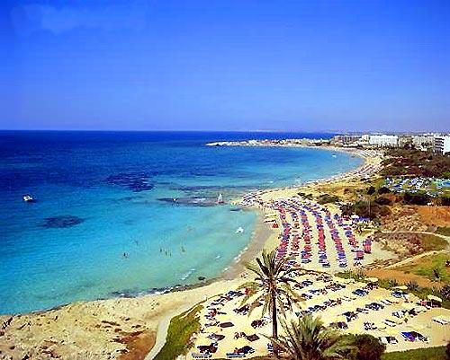 Красивый пейзаж на Кипре