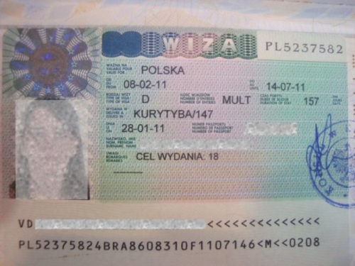 Виза для посещения Польши