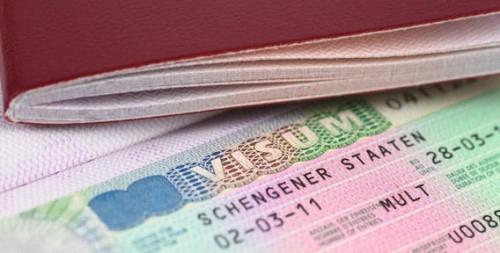 Виза для посещения стран шенгена