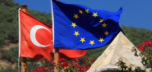 Турецкий и шенгенский флаг