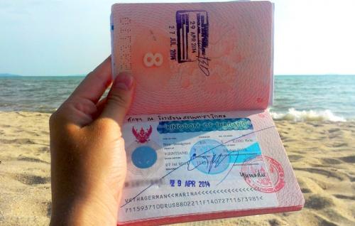 Паспорт с тайской визой