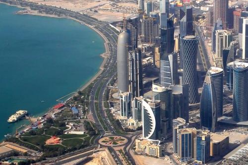 Катар с высоты