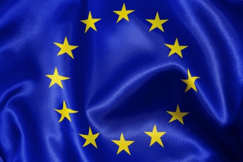 Шенгенский флаг из ткани