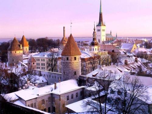 Красивая Финляндия зимой