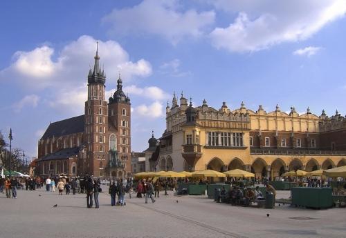 Красивые здания в Польше