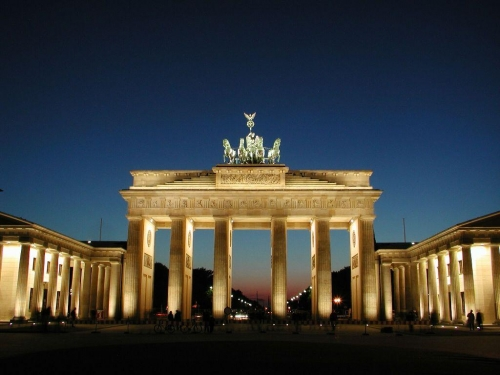 Красивый вид в Германии