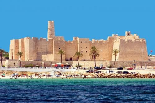 Красивый вид в Тунисе