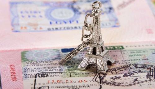 Шенгенская виза и Эйфелева башня