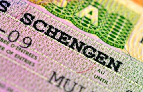 Шенгенская виза в загранпаспорте