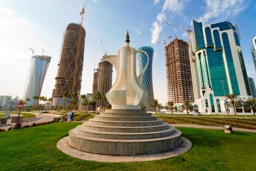 Красивый вид в Катаре