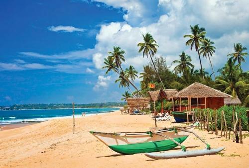 Красивый вид в Шри-Ланке