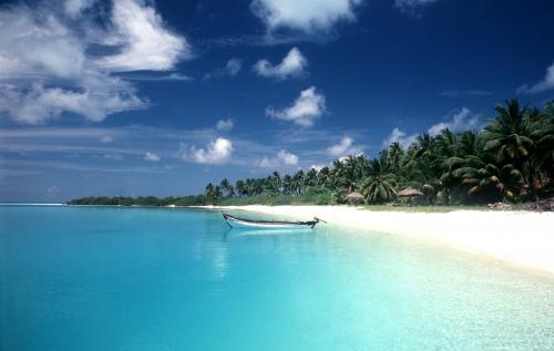Красивый вид на море на Гоа