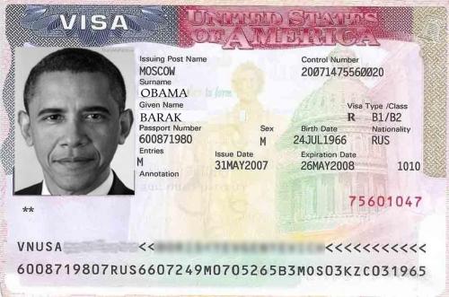 Американская виза для въезда в страну