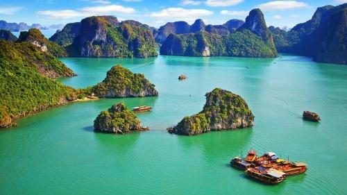 Красивый вид во Вьетнаме