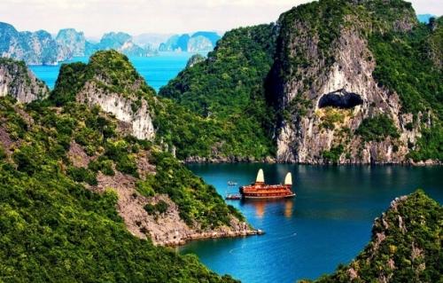 Красивый вид на природу во Вьетнаме