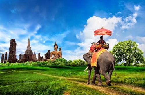 Красивые виды природы в Тайланде