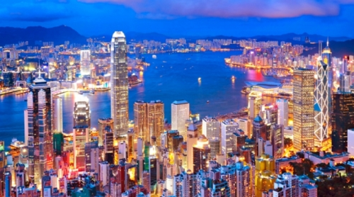 Красота ночного Гонконга