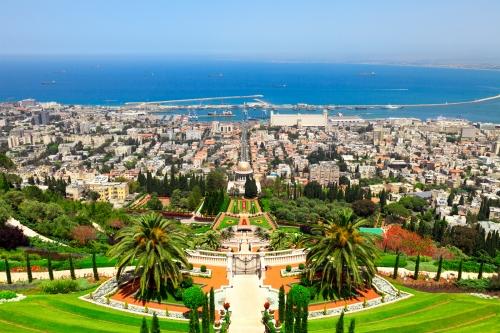 Красивый вид на древний город