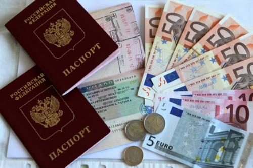 Паспорта и деньги для стран ЕС