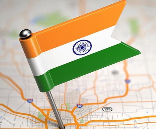 Индийский флаг