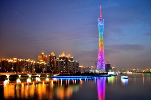 Набережная в Китае