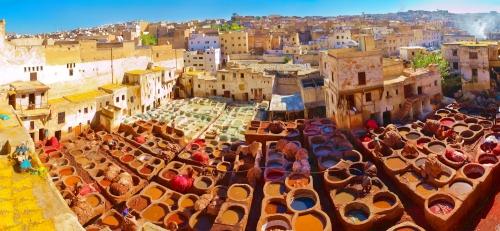 Марокко с высоты