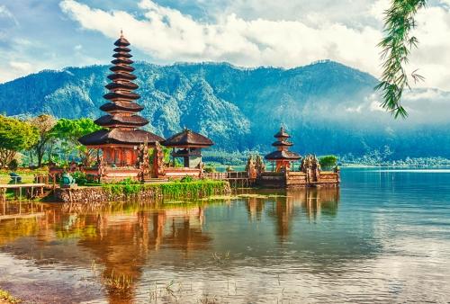 Красивый вид в Индонезии