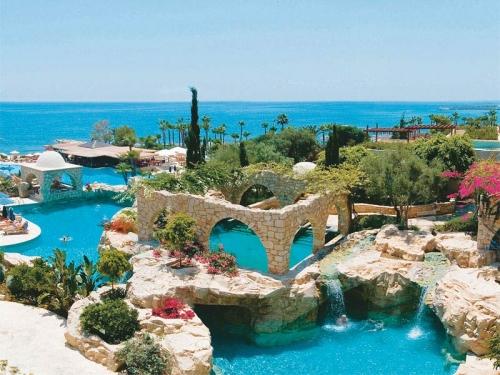 Морской пейзаж на Кипре