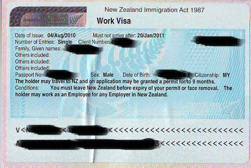 Silver Fern Visa для эмигрантов