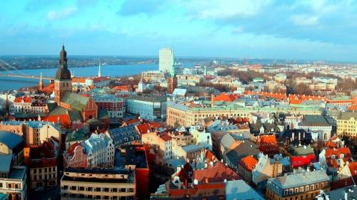 Красивый вид в Литве