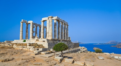 Греческая достопримечательность