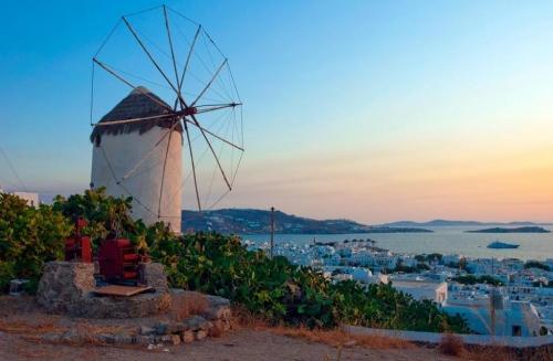 Красиваый вид в Греции